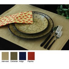 Denim Reversible Rectangle Placemat (Set of 2)