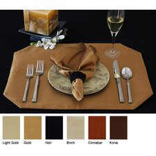 Luscious Silk Reversible Rectangle Placemat (Set of 2)