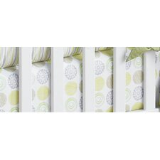 <strong>Laugh, Giggle & Smile</strong> Zen Garden Cotton Crib Sheet