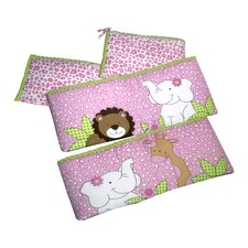Sassy Jungle Friends Bumper Pad Set