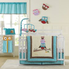 Spotty Owls Crib Bedding Collection