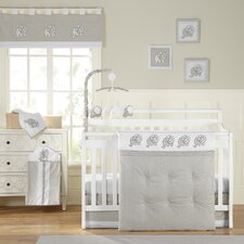<strong>Laugh, Giggle & Smile</strong> Elephant Chic Crib Bedding Collection