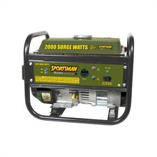 2,000 Watt Portable Gasoline Generator