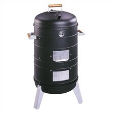 <strong>Meco</strong> Charcoal Combo Water Smoker / Grill
