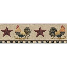 Welcome Home Rooster Border