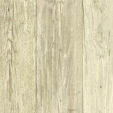 <strong>York Wallcoverings</strong> Welcome Home Trompe L'oeil Distressed Wallpaper