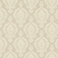 <strong>York Wallcoverings</strong> French Dressing Weave Damask Wallpaper