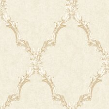 Heritage Home Emblem Frame Harlequin Wallpaper