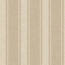 <strong>York Wallcoverings</strong> Heritage Home Romantic Stripe Wallpaper