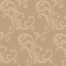 Heritage Home Scroll Trail Wallpaper