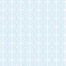 Peek-A-Boo Franco Graphic Chain Link Wallpaper