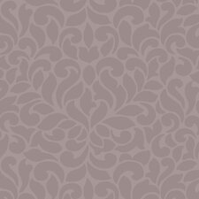 Jewel Box Lotus Damask Wallpaper