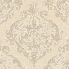 <strong>York Wallcoverings</strong> Natural Radiance Westchester Damask Wallpaper