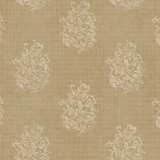 <strong>York Wallcoverings</strong> Natural Radiance Biscayne Damask Wallpaper