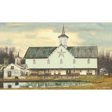 Portfolio II Star Barn with Weathered Barn Wall Mural