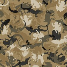 Candice Olson Kids Critter Camo Wallpaper