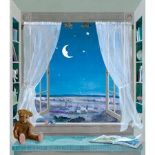 York Kids IV Sweet Dreams Window Mural