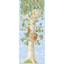 York Kids IV Tree W/Bears Wall Mural