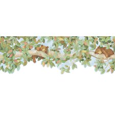 <strong>York Wallcoverings</strong> York Kids IV Bear Branch Wallpaper Border