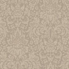 <strong>York Wallcoverings</strong> Proper English Mottled Damask Wallpaper