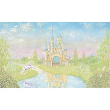 York Kids IV Princess Chair Rail Wall Mural