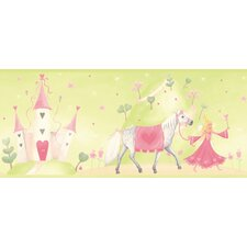 <strong>York Wallcoverings</strong> York Kids IV Princess Castle Wallpaper Border