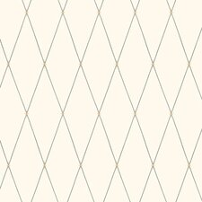 Candice Olson Dimensional Surfaces Inlaid Diamond Harlequin Wallpaper
