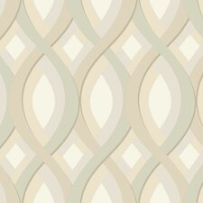 <strong>York Wallcoverings</strong> Candice Olson II Dimensional Surfaces Geometric Wallpaper
