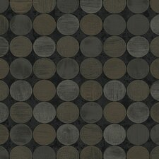 Candice Olson Dimensional Surfaces Textured Circles Wallpaper