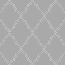 <strong>York Wallcoverings</strong> Candice Olson II Dimensional Surfaces Moroccan Trellis Wallpaper