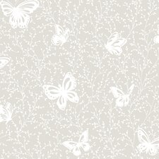 <strong>York Wallcoverings</strong> Peek-A-Boo Butterfly Garden Wallpaper