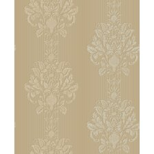 Royal Cottage Two Tone Damask Wallpaper