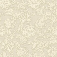 Candice Olson Shimmering Details Lace Wallpaper