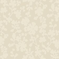 <strong>York Wallcoverings</strong> Candice Olson Shimmering Details Shadow Flower Wallpaper