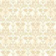 <strong>York Wallcoverings</strong> Gentle Manor Drybrush Damask Wallpaper