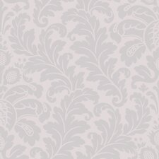 Candice Olson Shimmering Details Traditional Damask Wallpaper