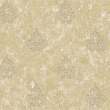 Aged Elegance II Filigree Wallpaper