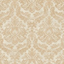<strong>York Wallcoverings</strong> Gentle Manor Feathery Damask Wallpaper