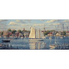 Mural Portfolio II Harbor View Scenic Border Wallpaper