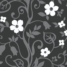 <strong>York Wallcoverings</strong> Walt Disney Signature II Wonderland Floral Bontanical Wallpaper