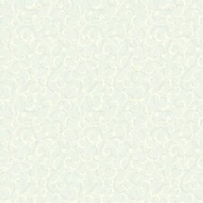 Gentle Manor Swirl Scroll Wallpaper