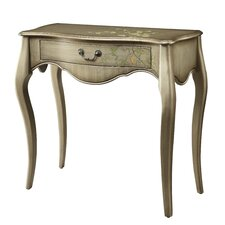 Inspired by Bassett Renata Console Table in Champagne