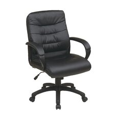 Mid Back Executive Chair with Padded Arms