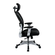 "Space 22.5"" Eco Leather Seat Chair with Headrest"