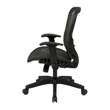 "Space 28"" Chair with Flip Arms"