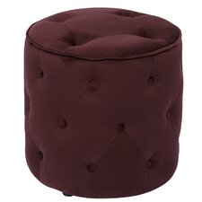 <strong>Office Star Products</strong> Ave Six Curves Tufted Round Ottoman