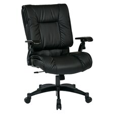 SPACE Deluxe Mid-Back Conference Chair with Cantilever Arms
