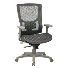 ProGrid High-Back Mesh Manager Chair with Adjustable Arm