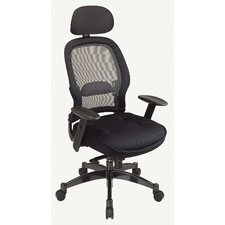 <strong>Office Star Products</strong> SPACE Deluxe Matrex High-Back Mesh Executive Chair with Arms
