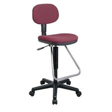<strong>Office Star Products</strong> Height Adjustable Drafting Chair with Footrest